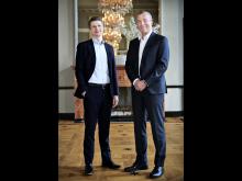 CEO Peter Lytzen (t.h.) og CCO Søren Karas (t.v.)