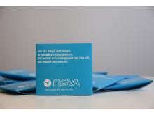 NSVA delar ut kondomer för att stoppa fulspolningen