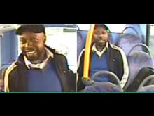 Image of man sought - bus sexual assault