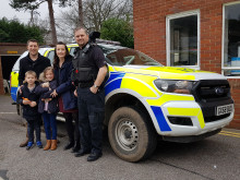 20190305-glass-james-horsham-police-visit7-mnd