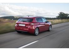 Sverigepremiär nya Peugeot 308_bak