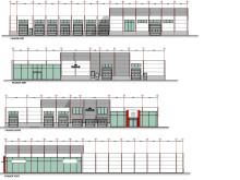 Nytt lavenergibygg på Sortland, fasade