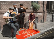 We're Changing Campaign Buskers