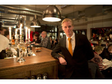 Petter Nyberg, delägare och restaurangchef på restaurang CG i Luleå