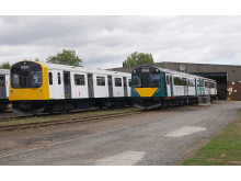 New Marston Vale livery unveiled at Vivarail's Long Marston depot
