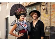 'Geisha' Kleid und dessen Designer Marco Stern