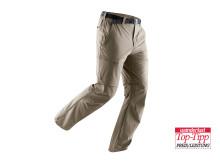 """Der Serientestsieger """"Tajo"""" ist eine vielseitige Outdoorhose mit abnehmbaren Hosenbeinen"""