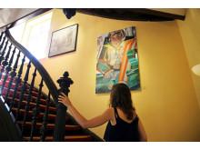 Galerie Hotel Leipziger Hof - Sammlung - Bilder im Treppenhaus