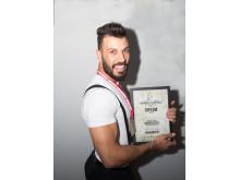Ali Alahama, Troy Salon, finalist i Årets barberare 2018