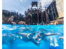 UNESCO Weltkulturerbe Zollverein - Werksschwimmbad, Essen