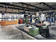 Das  neue, flexible Ladenkonzept ermöglicht in kürzester Zeit eine Umgestaltung der Fläche.