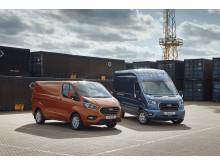 Ford Transit range lineup 2018