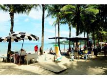 Kamala Beach ligger otte kilometer nord for Patong på Phuket. Her holder op mod 50 pct. af Spies' gæster deres thailandske ferie.