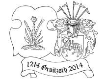 Logo 800 Jahre Stadtrecht Groitzsch