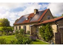 Villa i Helsingborg med solceller