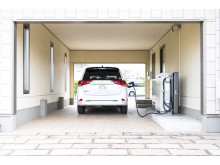 Mitsubishi Outlander Plug-in Hybrid beim Laden