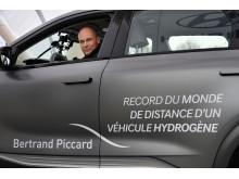 Bertrand Piccard bak rattet på NEXO.