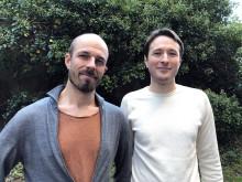 Björn Wickman and Cristian Tunsu