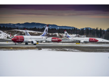 Three Norwegian aircraft