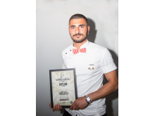 Antonino Ratto, The Barber, finalist i Årets barberare 2018