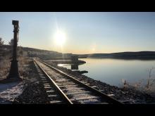 Holmen railway