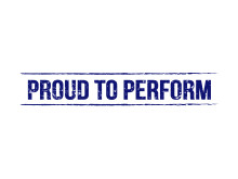 Proud to Perform logo