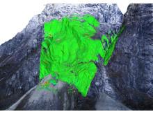 Radar + dronefoto sikrer skredutsatte E16-strekninger
