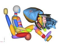 Ford lager ny knekollisjonspute som gir mer plass og sparer vekt