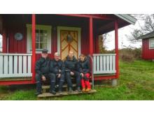 Familien Mogensen er nye bestyrere på Søby Camping