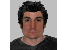 E-fit of a man officers would like to speak to following a robbery in Tattenhoe