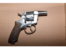 Recovered firearm [3]
