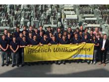 Ausbildungsstart beim Bayernwerk in Oberbayern