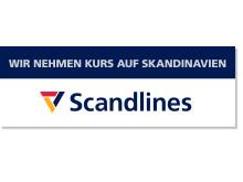 Scandlines - Wir nehmen Kurs auf Skandinavien - Logo