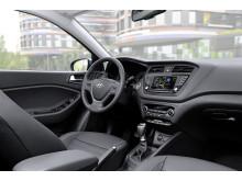 Nye Hyundai i20 Active (interiør)