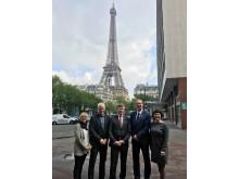 Pressbild från Paris