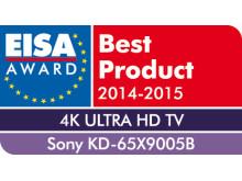 EISA Award 2014_KD-65X9005B von Sony