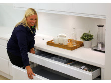 Jenny Nordendahl, køkken-ansvarlig Elgiganten
