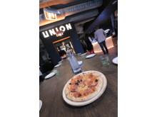 Hjemmelaget pizza på Union864 II