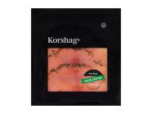 Korshags - EKO Gravad laxfilé, skivad 100 g