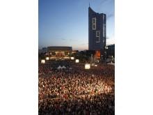 Gemeinsames Gedenken an den 9. Oktober 1989 auf dem Augustusplatz