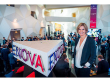 Markedsdirektør Audhild Kvam i Enova på Enovakonferansen 2017