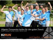 B2RUN Teilnahme 2014 in Düsseldorf