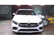 Mercedes-Benz A-Class side impact
