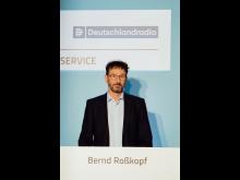 Bernd Roßkopf, Abteilungsleiter Kundenmanagement und Berichtswesen