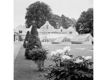 Trädgården på Julita gård på 1920-talet