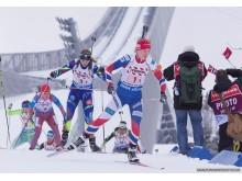 Marte Olsbu, mixed stafett, VM i Holmenkollen 2016