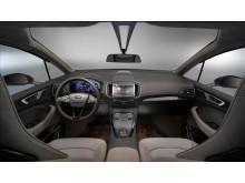 Nye Ford S-MAX Concept, interiør