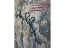"""Roland Borchers, """"Brüchige Worte XVI"""", Öl auf Leinwand, 2013, 200x150 cm"""
