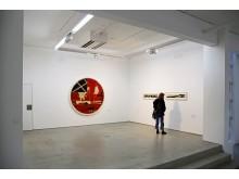 """Blick in die Ausstellung """"NEO RAUCH"""" vom 30.01. bis 10.05.2020 in der G2 Kunsthalle - Foto: Isabell Gradinger"""