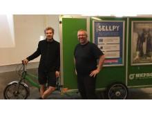 Nils och Johan Wedin, grundare MOVEBYBiKE